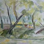 1995 Am Weiher 45x60