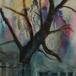 2003 Tanzender Baum 40x80