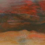 2005 Sonnenuntergang 40x100
