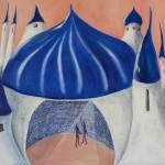 2012 Die blauen Türme  60x80