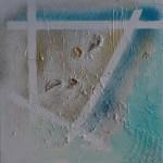 2014 Muscheln auf weißem Grund 40x40