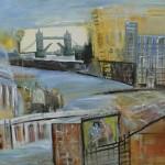 2015 An der Themse 70x100